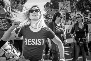George Draper - untitled photo - Women's March